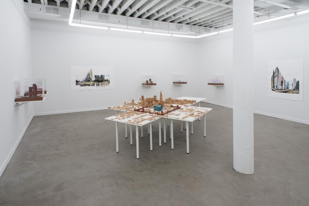 Installation view, Center of the World, Chicago Western Exhibitions, Chicago IL, 2013
