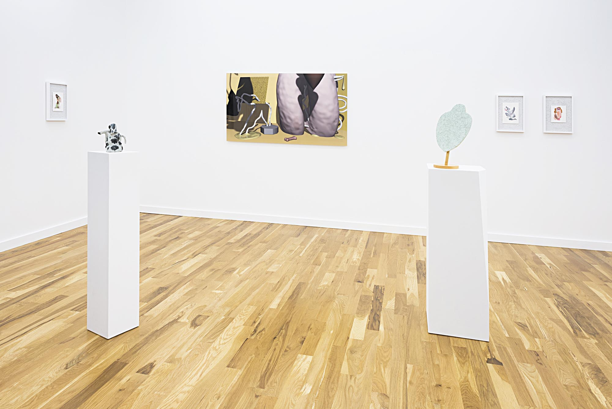 Salves Installation view at Western Exhibitions, September 9 to October 28, 2017